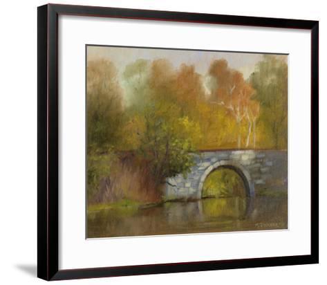 The Bridge-Mary Jean Weber-Framed Art Print