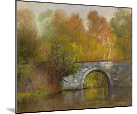 The Bridge-Mary Jean Weber-Mounted Art Print
