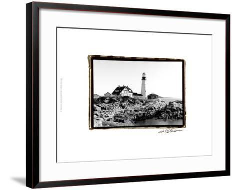 Portland Headlight II-Laura Denardo-Framed Art Print