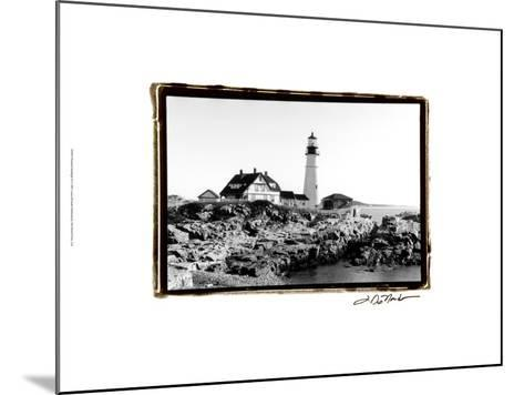 Portland Headlight II-Laura Denardo-Mounted Art Print