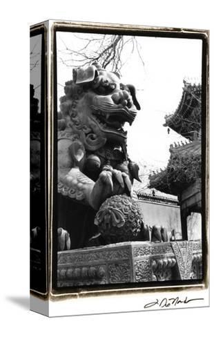 Imperial Lion, Beijing-Laura Denardo-Stretched Canvas Print