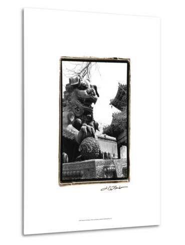 Imperial Lion, Beijing-Laura Denardo-Metal Print