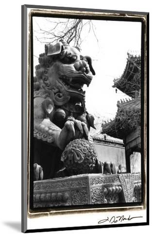 Imperial Lion, Beijing-Laura Denardo-Mounted Art Print