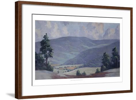 Summer-Walter King Stone-Framed Art Print