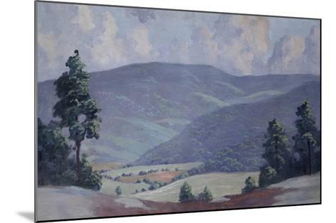 Summer-Walter King Stone-Mounted Art Print