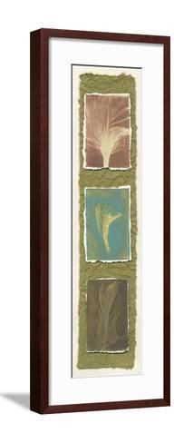 Feather Fossils I-Erica J^ Vess-Framed Art Print