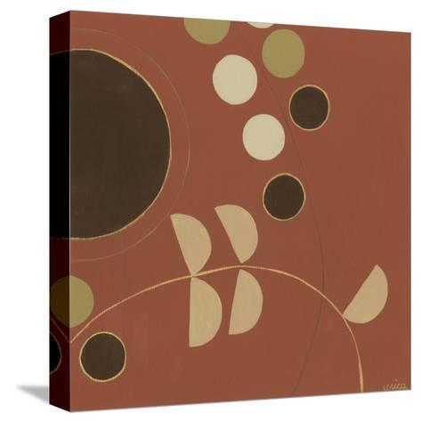 Autumn Orbit VI-Erica J^ Vess-Stretched Canvas Print
