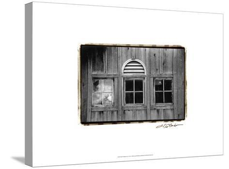 Barn Windows I-Laura Denardo-Stretched Canvas Print