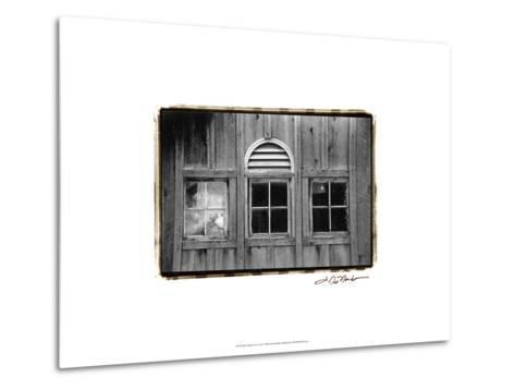 Barn Windows I-Laura Denardo-Metal Print