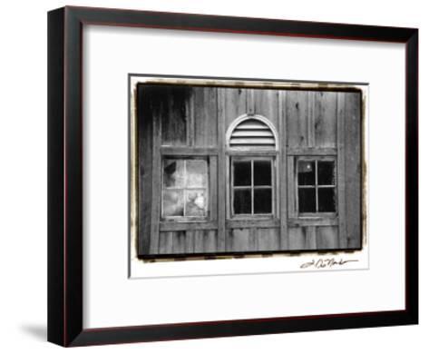 Barn Windows I-Laura Denardo-Framed Art Print