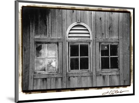 Barn Windows I-Laura Denardo-Mounted Art Print