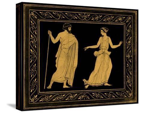 Etruscan Scene I-William Hamilton-Stretched Canvas Print