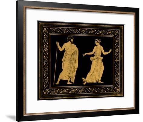 Etruscan Scene I-William Hamilton-Framed Art Print