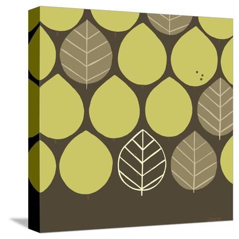 Forest Motif I-Erica J^ Vess-Stretched Canvas Print