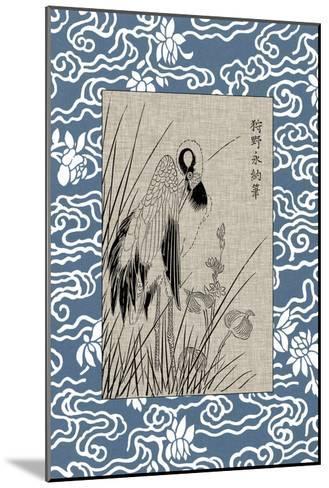 Asian Crane Panel II--Mounted Art Print