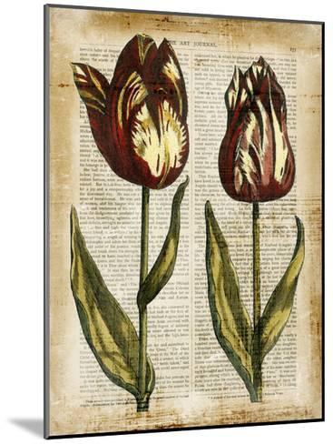 Antiquarian Tulips III--Mounted Art Print
