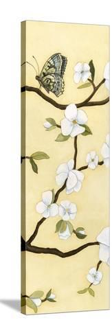 Eastern Blossom Triptych III-Megan Meagher-Stretched Canvas Print