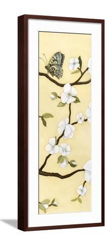 Eastern Blossom Triptych III-Megan Meagher-Framed Art Print