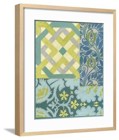 Pattern Collage IV-Megan Meagher-Framed Art Print