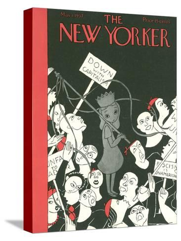The New Yorker Cover - May 1, 1937-Christina Malman-Stretched Canvas Print