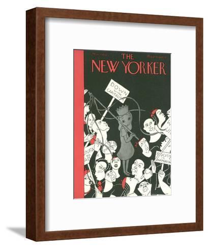 The New Yorker Cover - May 1, 1937-Christina Malman-Framed Art Print