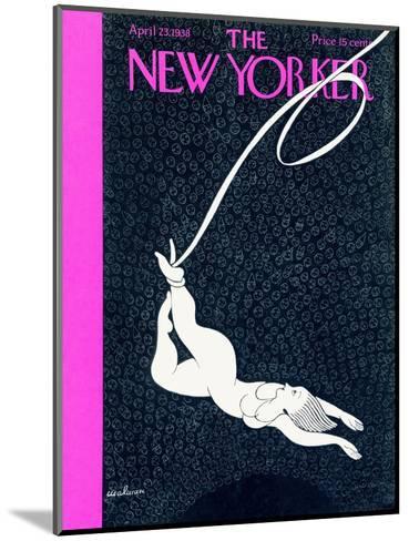 The New Yorker Cover - April 23, 1938-Christina Malman-Mounted Premium Giclee Print
