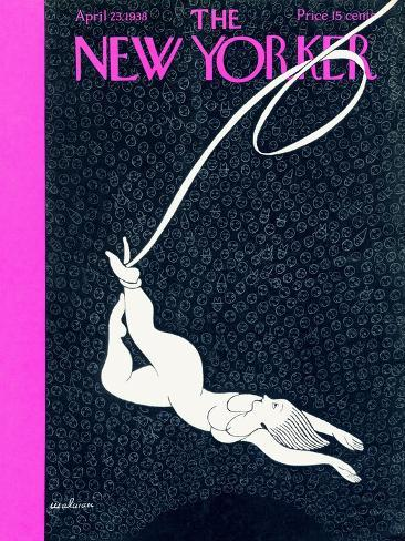 The New Yorker Cover - April 23, 1938-Christina Malman-Stretched Canvas Print