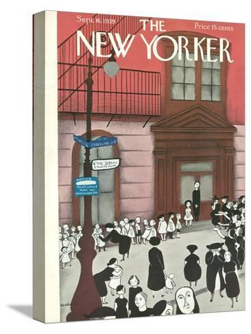 The New Yorker Cover - September 16, 1939-Christina Malman-Stretched Canvas Print