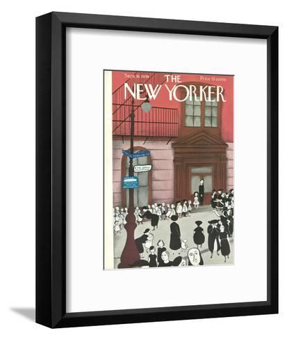 The New Yorker Cover - September 16, 1939-Christina Malman-Framed Art Print