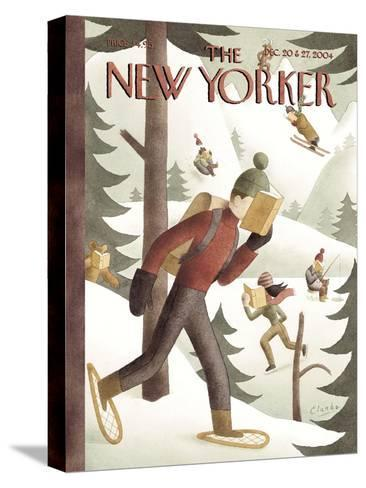 The New Yorker Cover - December 20, 2004-Clarke-Stretched Canvas Print