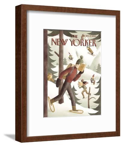 The New Yorker Cover - December 20, 2004-Clarke-Framed Art Print