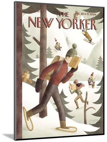 The New Yorker Cover - December 20, 2004-Clarke-Mounted Premium Giclee Print