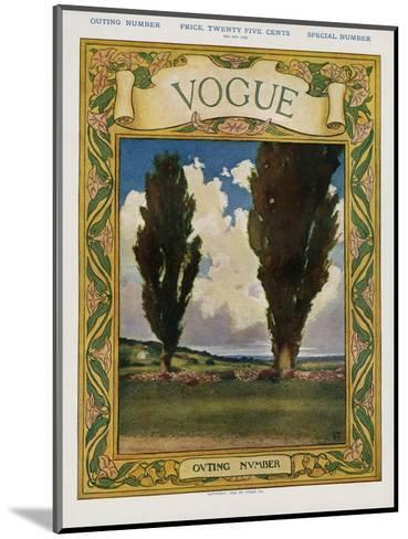 Vogue Cover - May 1905--Mounted Premium Giclee Print