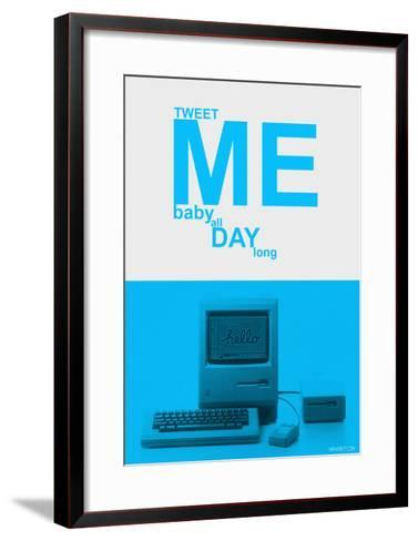 Tweet Me Baby All Day Long-NaxArt-Framed Art Print