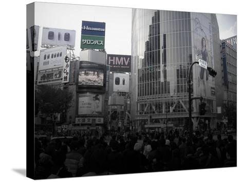 Tokyo Intersection 1-NaxArt-Stretched Canvas Print
