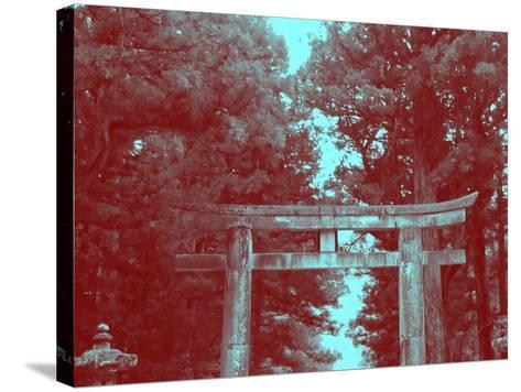Nikko Gate-NaxArt-Stretched Canvas Print