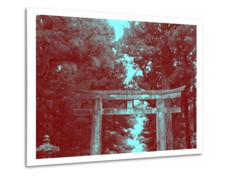 Nikko Gate-NaxArt-Metal Print