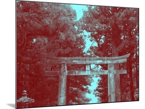 Nikko Gate-NaxArt-Mounted Art Print