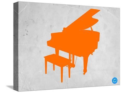 Orange Piano-NaxArt-Stretched Canvas Print