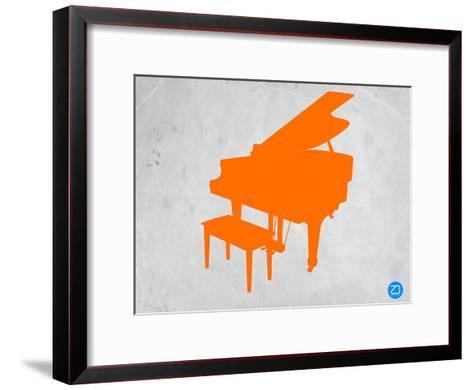 Orange Piano-NaxArt-Framed Art Print