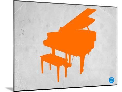 Orange Piano-NaxArt-Mounted Art Print
