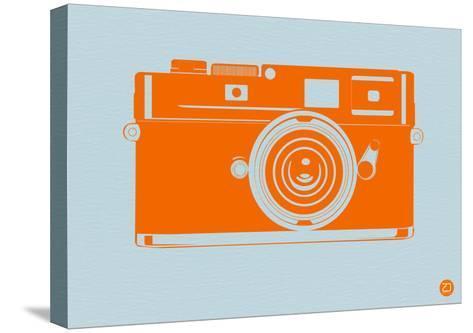 Orange Camera-NaxArt-Stretched Canvas Print