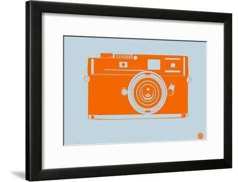Orange Camera-NaxArt-Framed Art Print