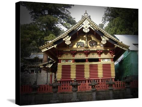 Nikko Architecture With Gold Roof-NaxArt-Stretched Canvas Print