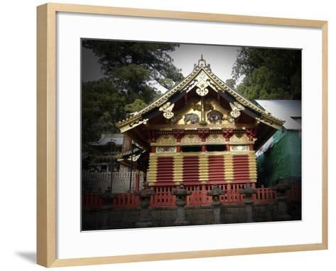 Nikko Architecture With Gold Roof-NaxArt-Framed Art Print