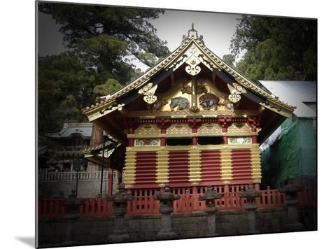 Nikko Architecture With Gold Roof-NaxArt-Mounted Art Print