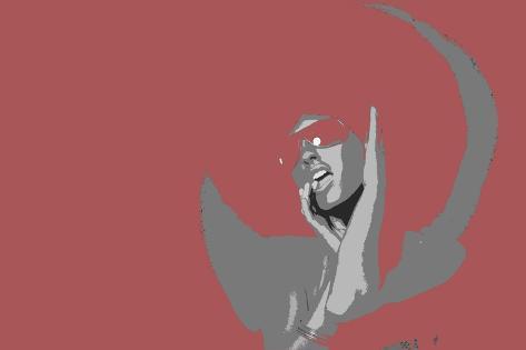 Disco Dance-NaxArt-Stretched Canvas Print
