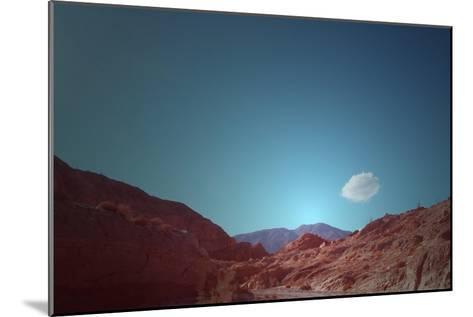 Lonely Cloud-NaxArt-Mounted Art Print