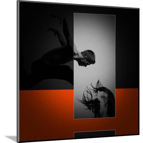 Air Kiss-NaxArt-Mounted Art Print