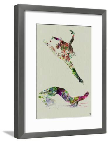 Ballet Watercolor 3-NaxArt-Framed Art Print